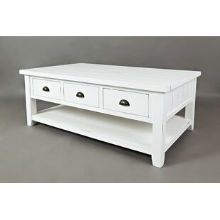 Jalynn Coffee Table With Storage by Mistana Great Reviews