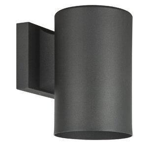 Architectural 1-Light Outdoor Sconce  sc 1 st  Wayfair & Dark Sky Compliant Outdoor Wall Lighting Youu0027ll Love | Wayfair azcodes.com