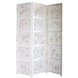 Affordable Godfrey 3 Panel Room Divider ByOne Allium Way