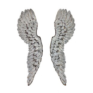 Metal Angel Wings Wall Décor