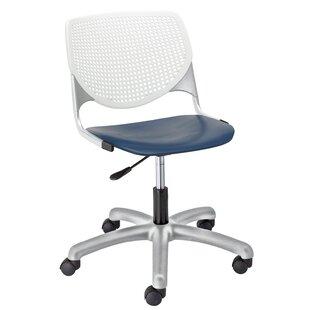 Latitude Run Eiland Poly Task Mid-Back Drafting Chair