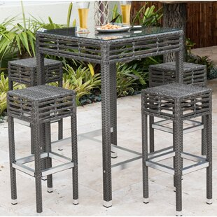 Graphite Bar Height Dining Set