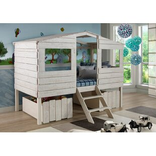 Price comparison Wander Cabin Lofted Bed by Harriet Bee Reviews (2019) & Buyer's Guide