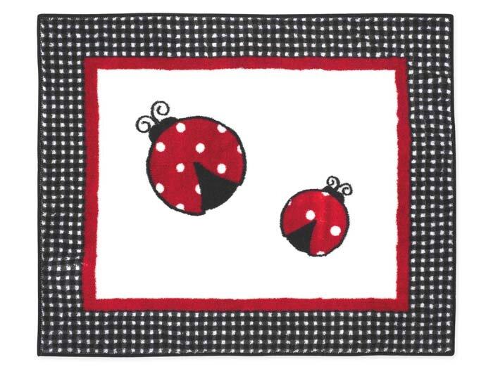 Little Ladybug Floor Rug