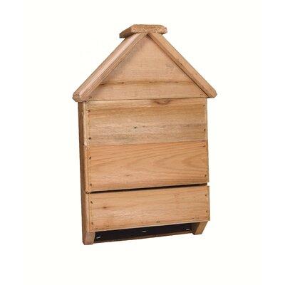 18 in x 11.5 in x 4 in Bat House Songbird Essentials