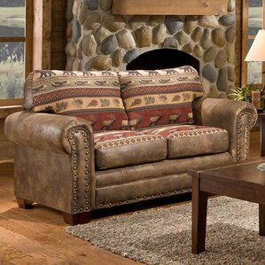 Lodge Sierra Loveseat by American Furniture Classics