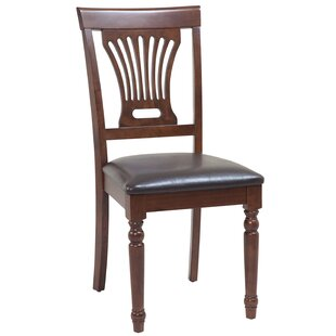 Arrow Solid Wood Dining Chair by Roseclif..