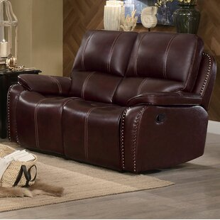 Shop Beyonce Upholstered Dual Recliner Loveseat by Red Barrel Studio
