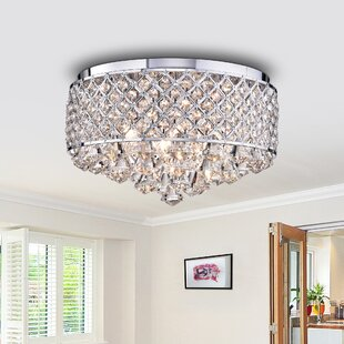 Woodbranch 4-Light Flush Mount