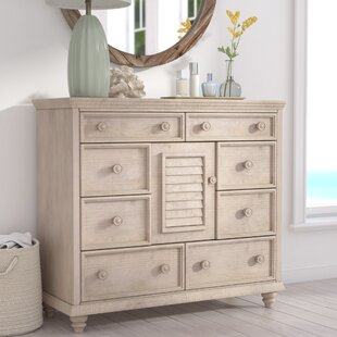 Comparison Eastweald 8 Drawer Dresser Chest by Beachcrest Home