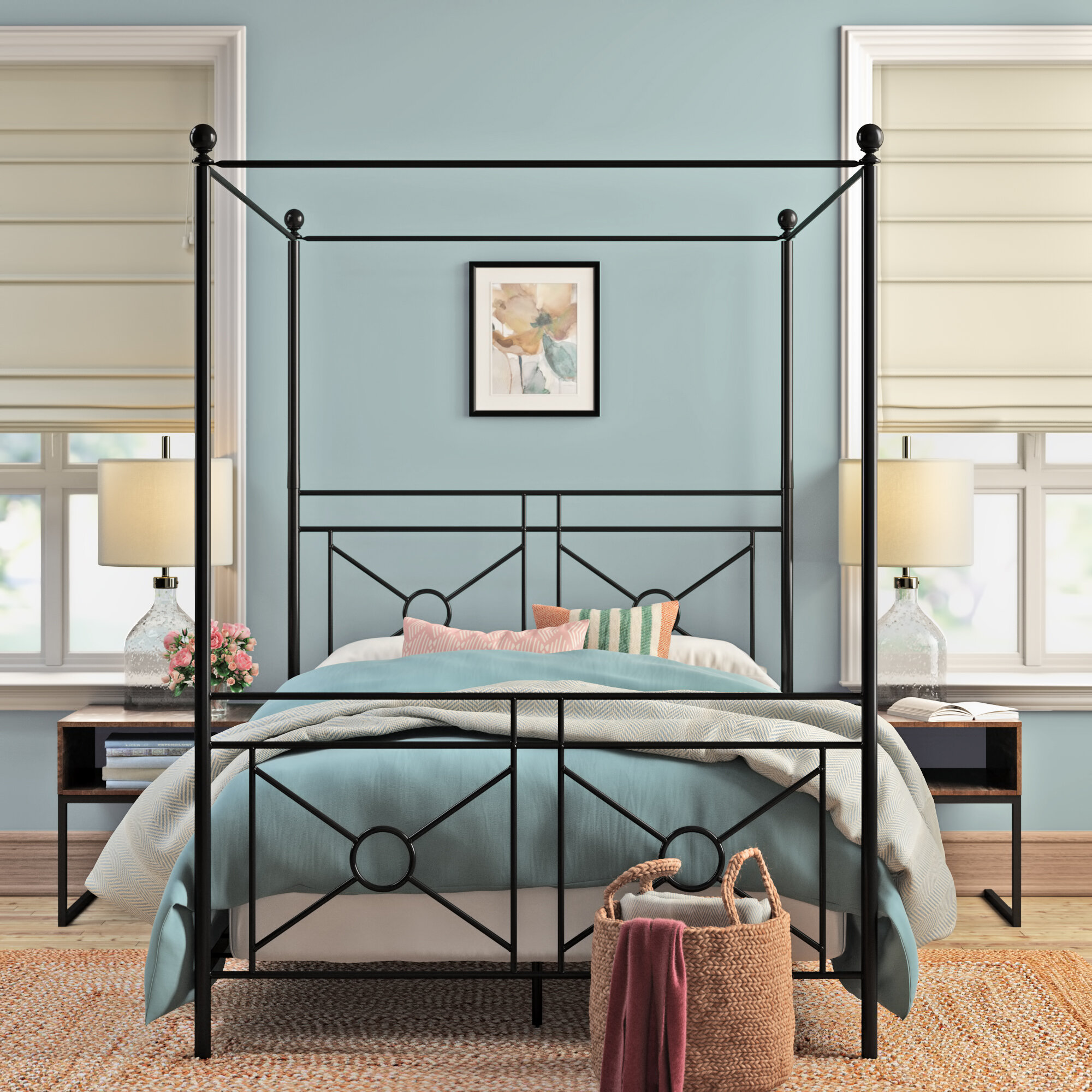 - Lattimore Canopy Bed & Reviews Joss & Main