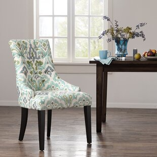 Celeste Upholstered Dining Chair (Set of 2) Bungalow Rose