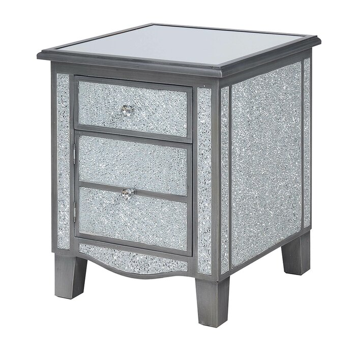 Moya End Table With Storage