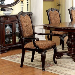 Mullett Dining Arm Chair (Set of 2) Astoria Grand