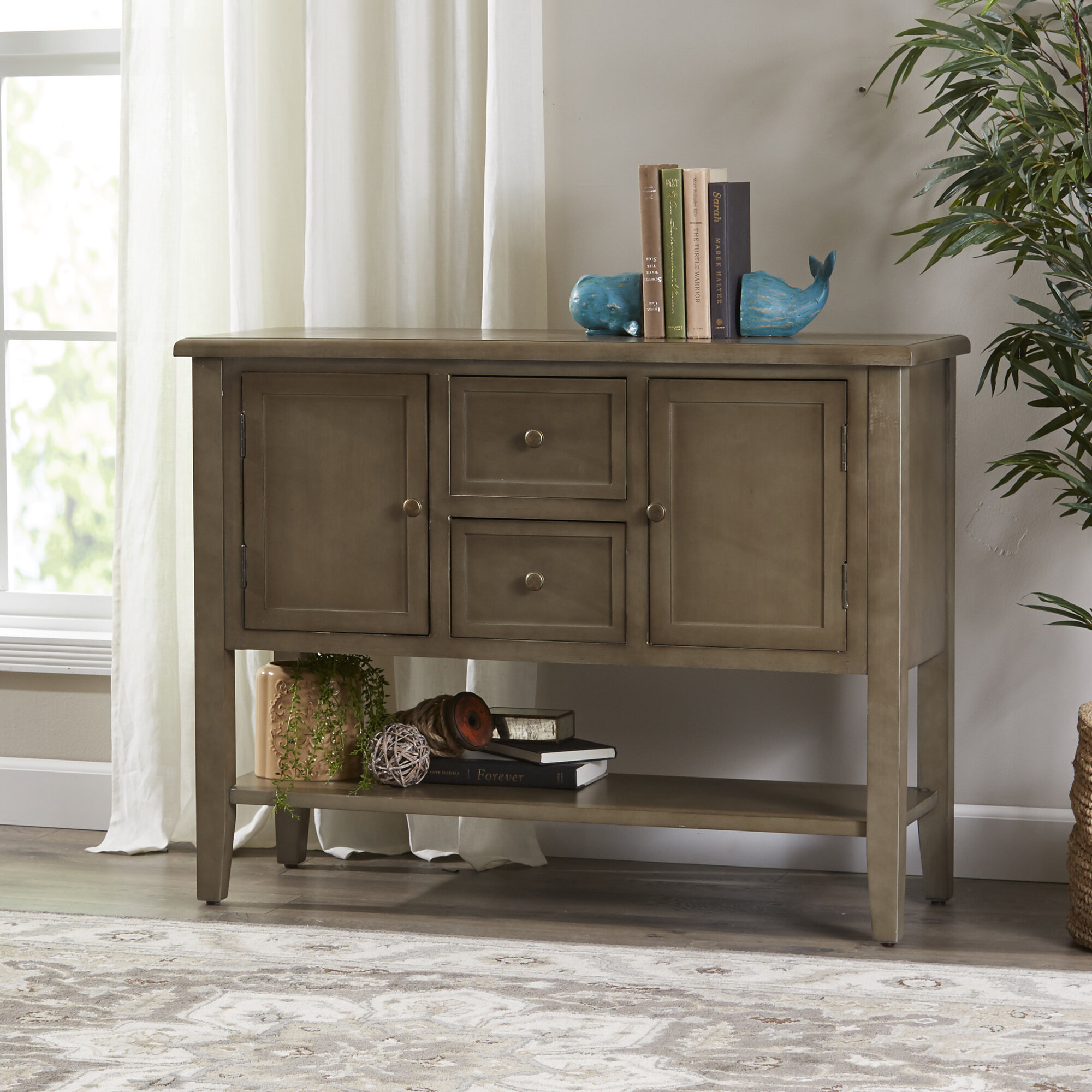 42 Solid Wood Console Table Reviews Birch Lane