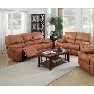 Agastya Reclining 2 Piece Leather Living ..