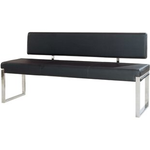 Milagro Bonded Faux Leather Bench