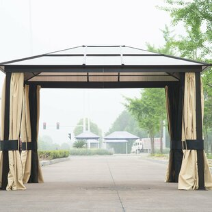 10 Ft. W x 12 Ft. D Aluminum Patio Gazebo by Outsunny