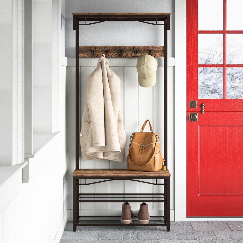 Gracie Oaks Hervey Coat Rack & Reviews | Wayfair