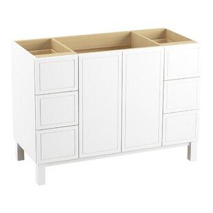 Jacquard? 48 Vanity with Furniture Legs, 2 Doors and 6 Drawers by Kohler