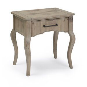 Powder Hill End Table by Bungalow Rose