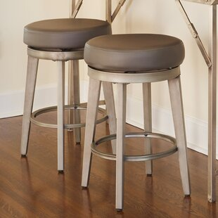 Bar & Counter Swivel Stool (Set of 2) by angelo:HOME