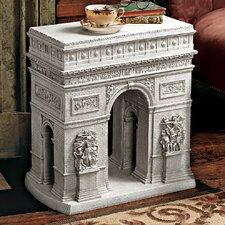 Arc De Triomphe Sculptural End Table by Design Toscano