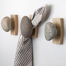 Sea Stones Coast Single Hook with Backplate by Sea Stones