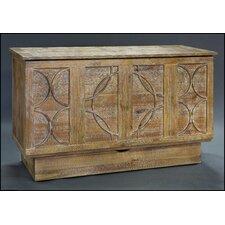 Bristol Cabinet Queen Storage Murphy Bed with Mattress by Pyper Marketing LLC