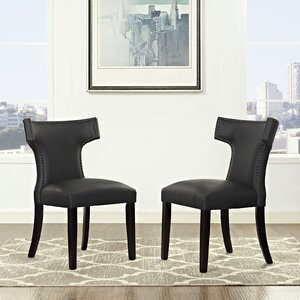 Curve Upholstered Dining Chair by Modway