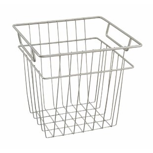 Wire basket table wayfair closet refresh wire basket greentooth Images