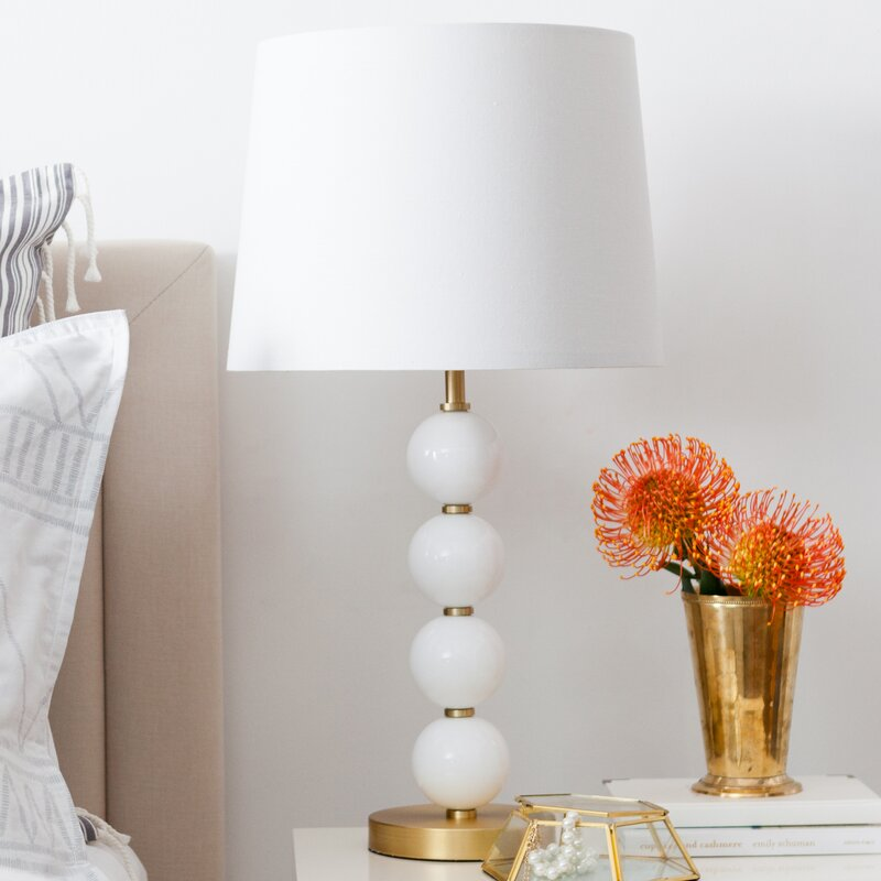 Cupcakes cashmere stacked glass ball 26 table lamp reviews stacked glass ball 26 table lamp mozeypictures Gallery