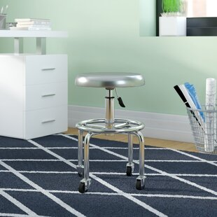 Callahan 28 Aluminum Work Stool by Zipcode Design