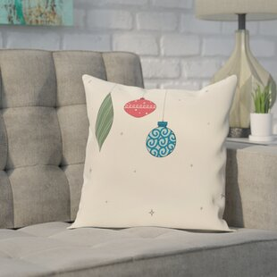 Ryman Light Bright Decorative Holiday Print Throw Pillow