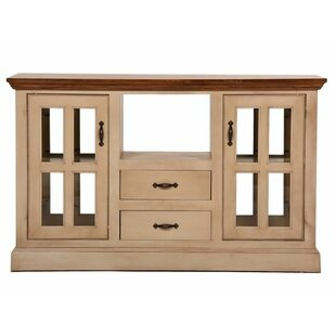 West Winds Kitchen Island with Solid Wood Plank Work Top