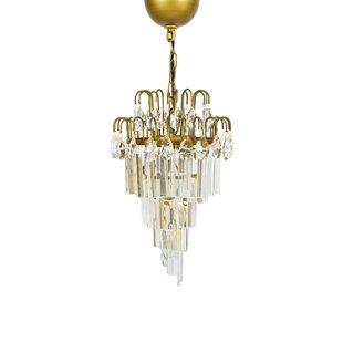 Manor Luxe Cascade 1-Light Crystal Pendant