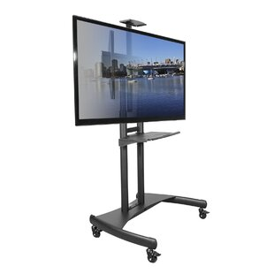 Mobile Floor Stand Mount For Flat Panel Screens by Kanto Design