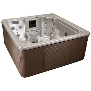 Cyanna Valley Spas Galaxy 7-Person 92-Jet Spa with Lounger