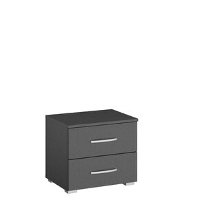 Aditio 2 Drawer Bedside Table By Rauch