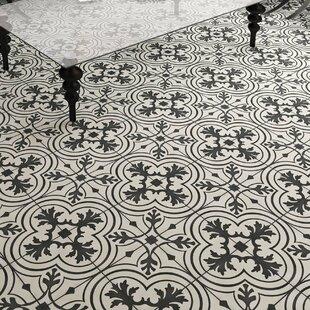 Forties 7.75 inch  x 7.75 inch  Ceramic Field Tile in Vintage