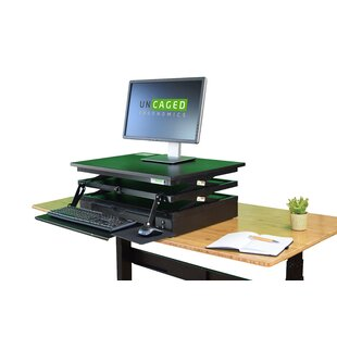 Standing Desk Converter by Uncaged Ergonomics Wonderful