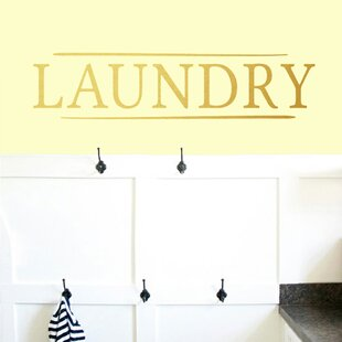 Laundry Wall Decal by Sweetums Wall Decals