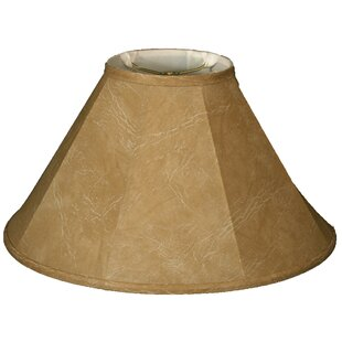 16 Faux Leather Empire Lamp Shade