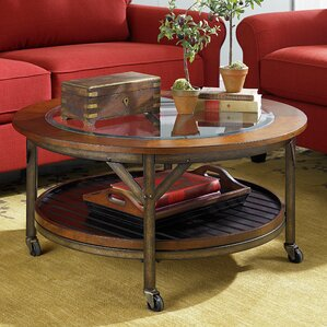 Calderwood Round Coffee Table by Gracie Oaks