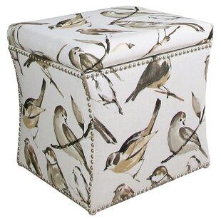 Skyline Furniture Oiseaux Storage Ottoman