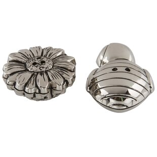 Flower and Bee Salt & Pepper Shaker Set