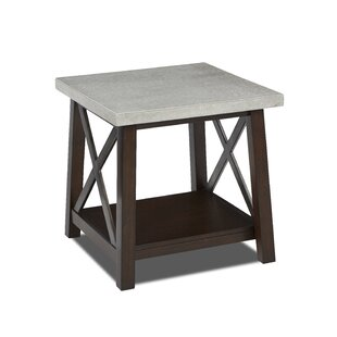 Estancia End Table by Gracie Oaks Best Design