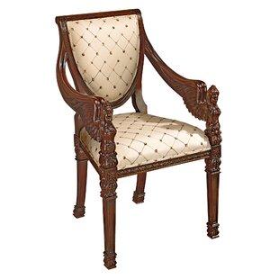 Superbe St. Gabriel Neoclassical Armchair