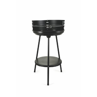 Zakariyya 39cm Round Portable Charcoal Barbecue By Sol 72 Outdoor