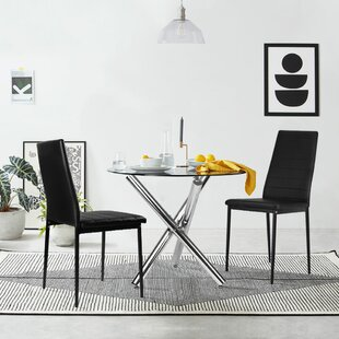 Eckhardt Dining Set With 2 Chairs By Metro Lane